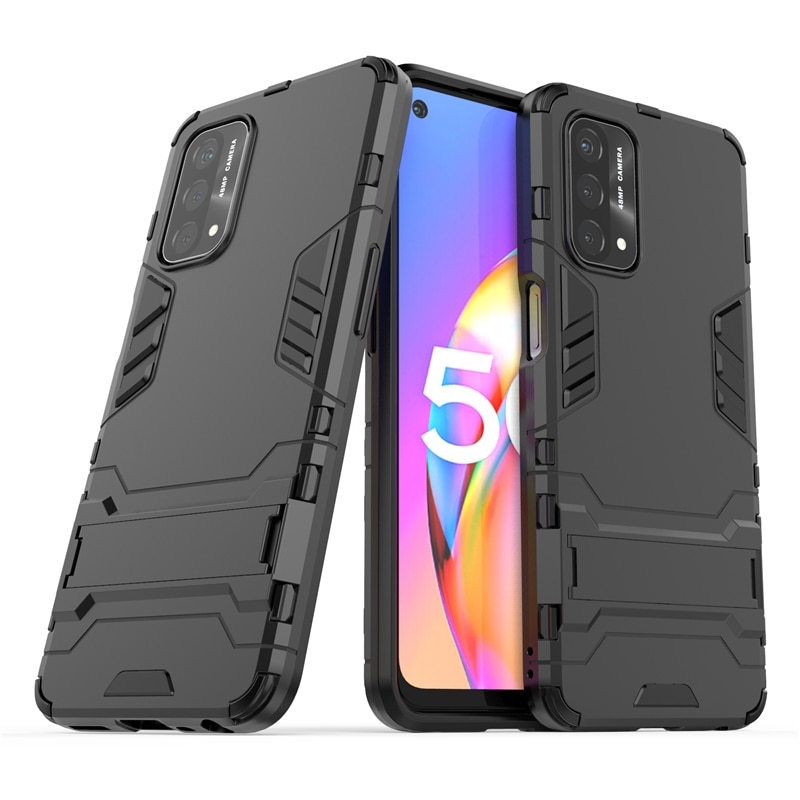 For Oneplus Nord N200 5G Case Cover for Nord N200 5G Cover Robot Armor Shell Capa Coque Kickstand Ha