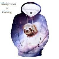 new mens and womens hooded sweatshirt 3d sloth childrens hoodies hip hop harajuku fashion kids sloth boy and girl 3d pullover
