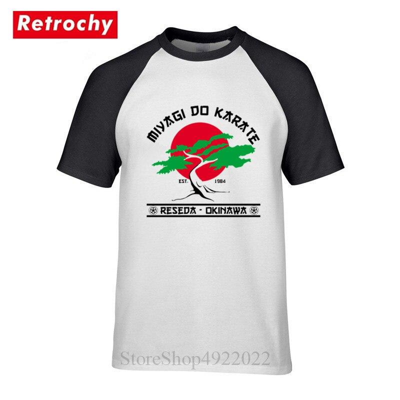 Miyagi Fazer Karate T-Shirt Cobra Kai T Shirt Homens Karate Kid Tshirt Kobe Bryant Mamba Negra Legal Moda Camiseta camisetas Hombre