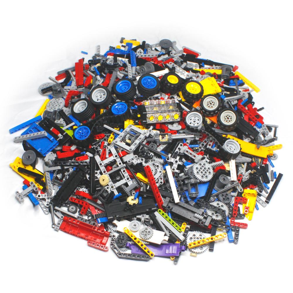 1000 Pieces DIY Building Blocks Bulk Sets City Creative Classic Technic Creator Bricks Assembly Brin
