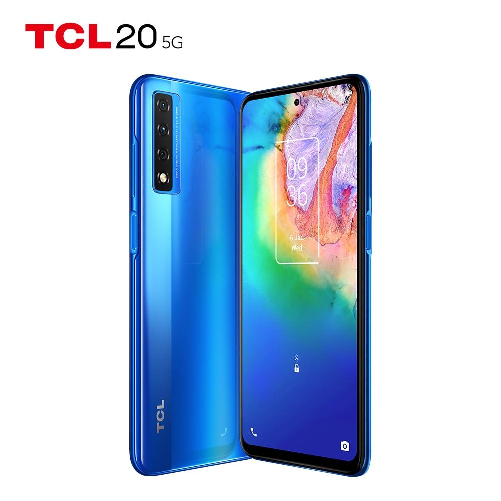 هاتف ذكي عالمي TCL 20 5G 6 + 128/256GB NFC 6.67