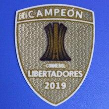 2019 2020 Flamengo Campeon Patch Champions Conmebol Libertadores 2019 Badge de transfert de chaleur