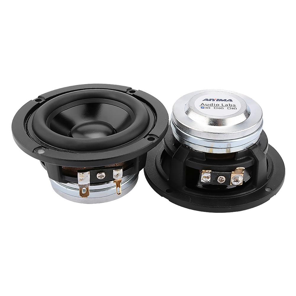 AIYIMA 2Pcs 3 Inch Full Range Speaker Driver 4 8 Ohm 20W Sound Music BT Speaker Neodymium High Sensitivity Loudspeaker enlarge