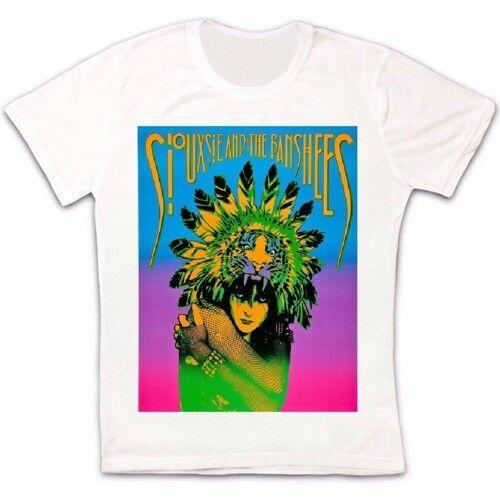 Siouxsie y los Banshees 80s Post Punk Retro Vintage Hipster Unisex camiseta hombres mujeres 34 Casual imprimir camiseta de moda