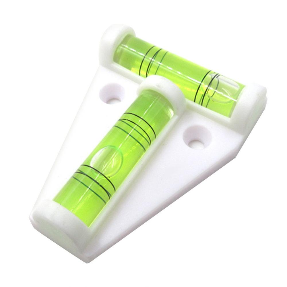 T-Type Spirit Level Plastic Measuring Vertical And Horizontal Adjuster Trailer Motorhome Boat Accessories Parts 1 piece
