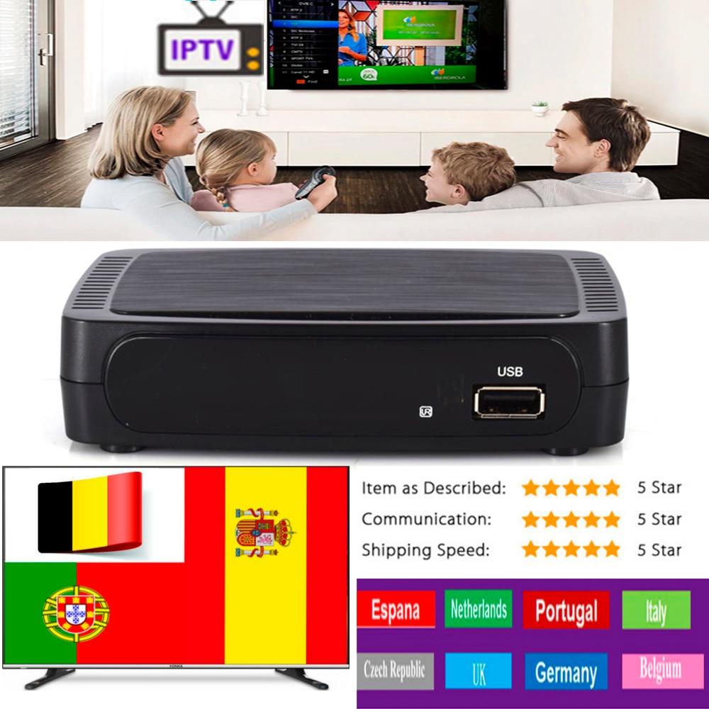 Receptor de tv tdt, decodificador de televisión M258 IPTV con 2GB DDR3, decodificador de señal con adaptador wifi usb, IPTV OTT