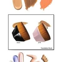 1pcs professional loose powder foundation brush bb cream makeup brush loose powder brush fashion blush cosmetic makeup brush