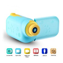 2.2 Inch Lcd Screen Kids Camera Mini Digital Photo Children Camera Rechargeable Action Camcorder Chi