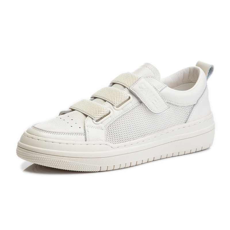 2021 Genuine Leather Summer Fashion White Sneakers For Women Flat Casual Shoes Woman Vulcanized Shoes Female ladies Sport Shoes