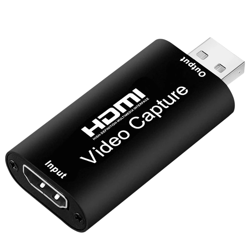 4K Mini Placa de Captura de vídeo HD HDMI 1080P; de Aquisicao...