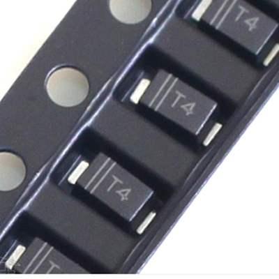 200 Uds SMD de césped-523 SOD-123 SOD-323 diodo de conmutación marcado T4 T5 T3 A7 4148 mosfet transistor BAV99 BAV21 BAS321