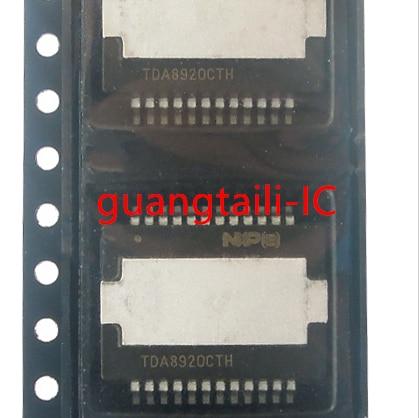 Tda8920 tda8920cth tda8920cth/n1 HSOP-24 classe d chip amplificador de áudio original novo