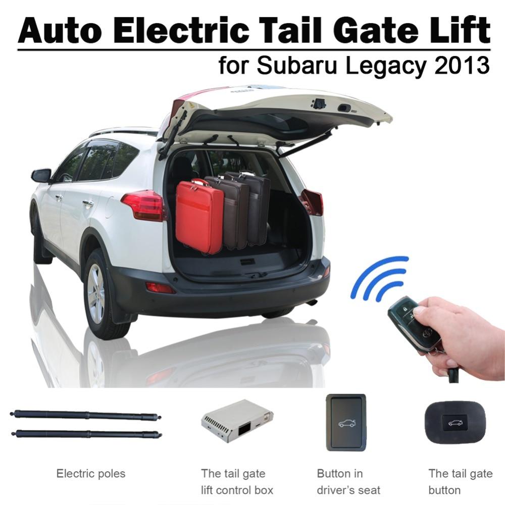 Elevador eléctrico para puerta trasera automático inteligente para Subaru legity 2013 Control remoto Control del botón del asiento Set de altura evitar pellizco