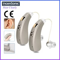 rechargeable hearing aids aab52sp audifonos mini sound amplifiers wireless ear for elderly moderate loss