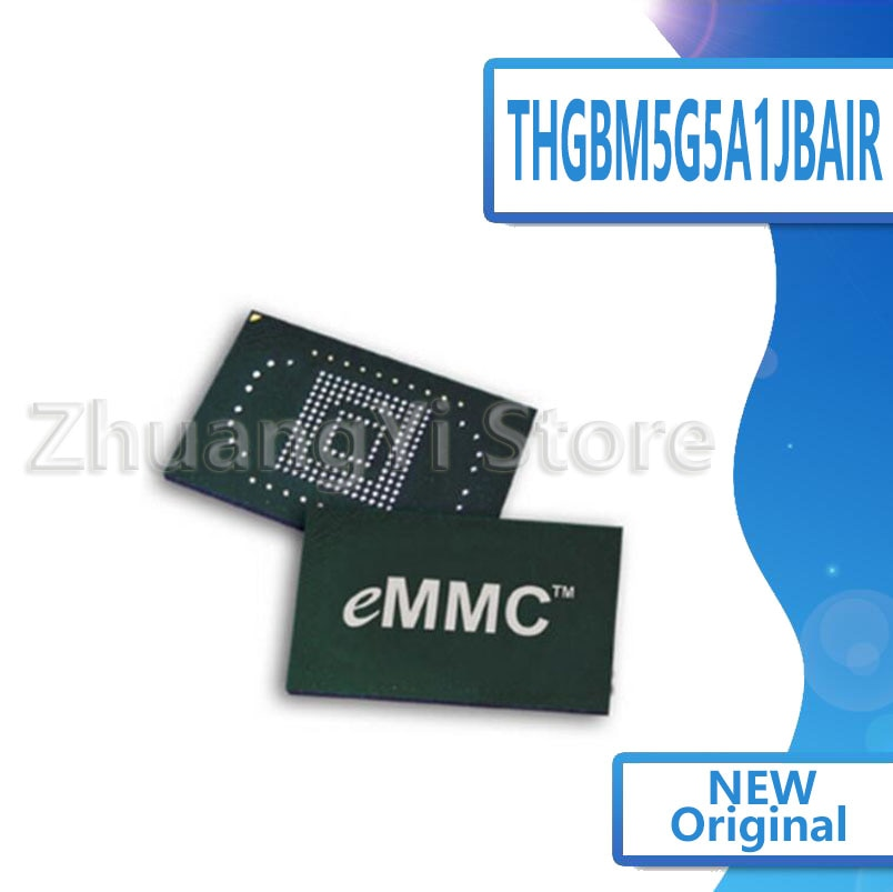 1 unids/lote THGBM5G5A1JBAIR THGBMAG5A1JBAIR 4G153BGA emmc LCD duro IC