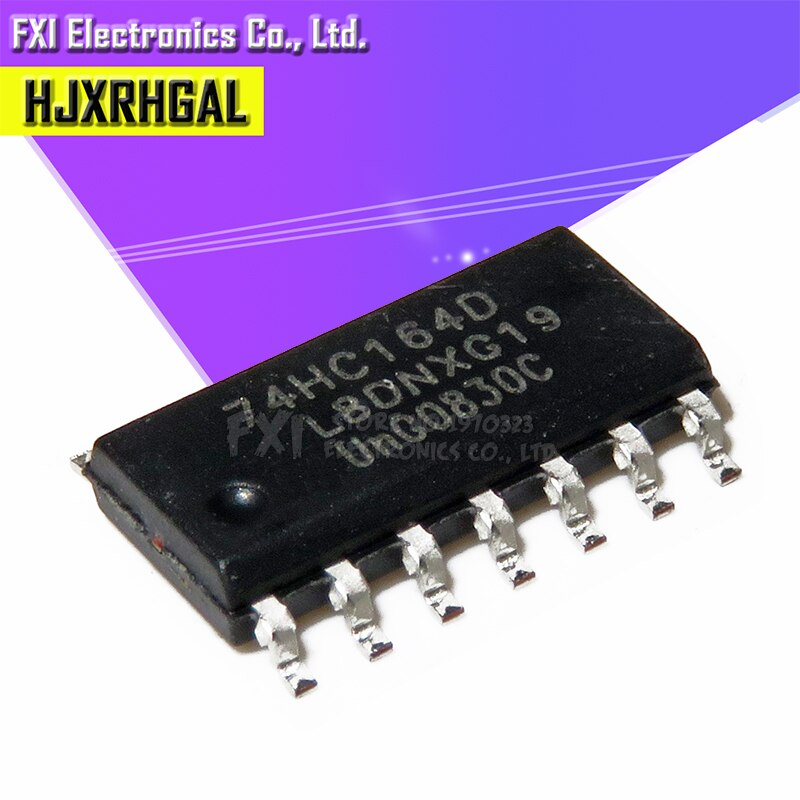 20 piezas 74HC164D 74HC164 SOP14 SOP SN74HC164DR SN74HC164 SMD nuevo original