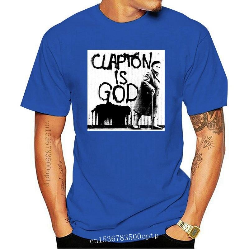 New eric clapton is god poste T-Shirt Size S-5XL