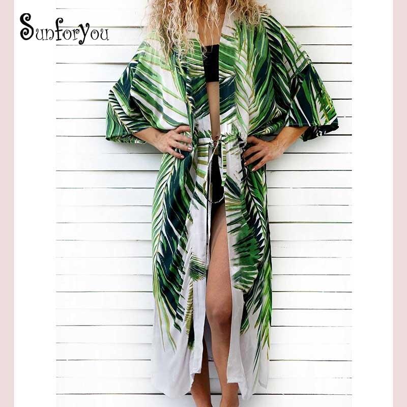 Traje de baño cubierta de playa de algodón hasta el traje de baño cubierta para mujeres vestido de verano Kaftan Robe de Plage Saida de Praia Tunics Pareo
