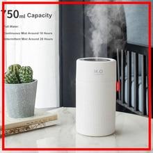 750ml USB Rechargeable aromathérapie diffuseur humidificateur dair arôme diffuseur Machine huile essentielle ultrasons brumisateur silencieux
