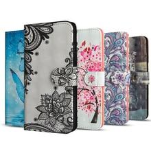 Leather Phone Case Voor Huawei Y5P Y6P Mate 20 X P20 Pro P Smart Plus Honor View 10 V10 8X spelen Nova 3i 3 Y9 Y7 Y6 Y5 Cover