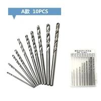 102550pcs multi function steel cobalt mini drill bit set spiral screw metric composite tap drill bit tap twist drill bit set