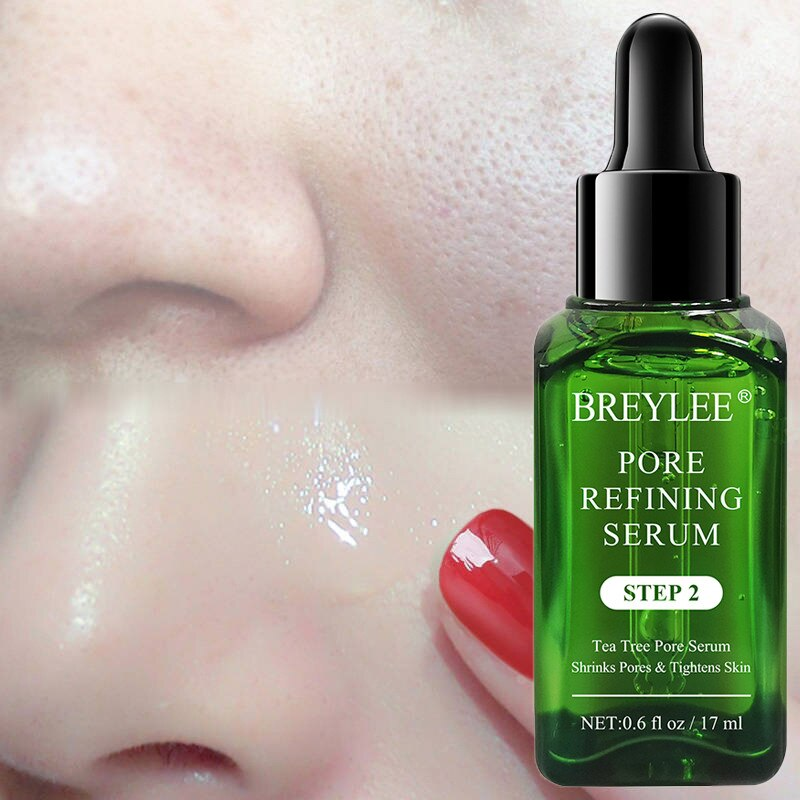 Skin Care Shrink Pores Serum Pore Tightens Refining Moisturizing Essence Whitening Anti-aging Oil Control Facial Essence 17ML недорого