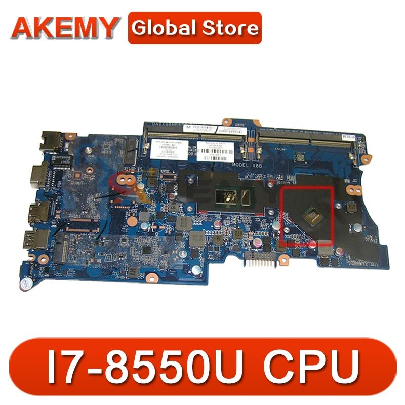 L01103-001 L01103-601Laptop اللوحة ل HP PROBOOK 440 G5 مع I7-8550U DA0X8BMB6F0 اللوحة 100% اختبار موافق