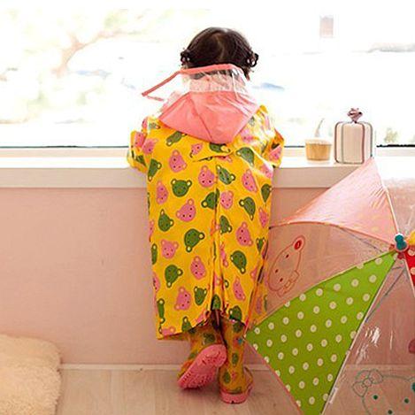 Crianças poncho grosso capa de chuva capa da criança meninas crianças capa de chuva à prova dwaterproof água reutilizável yagmurluk chuva engrenagem ad50rc