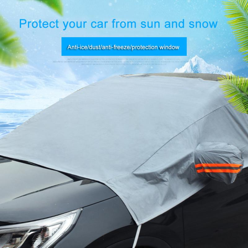 Winter Car thickening anti-frost anti-freeze snow glass cover car guard Car windshield cover sun shadow protector