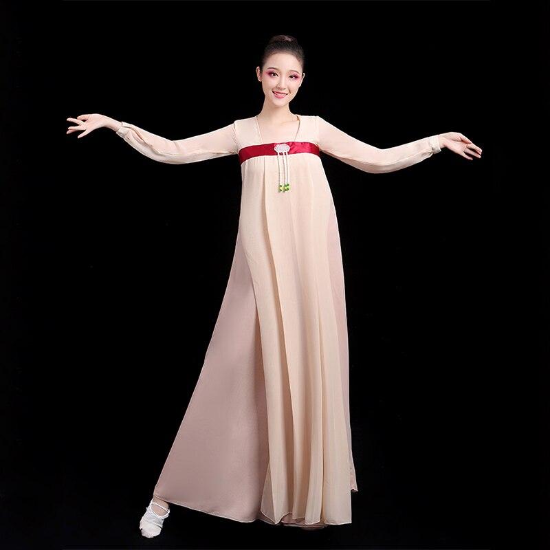 بدلة رقص للنساء البالغات والأطفال ، زي رقص مسرحي ، أزياء خرافية شعبية ، Hanfu الصينية التقليدية