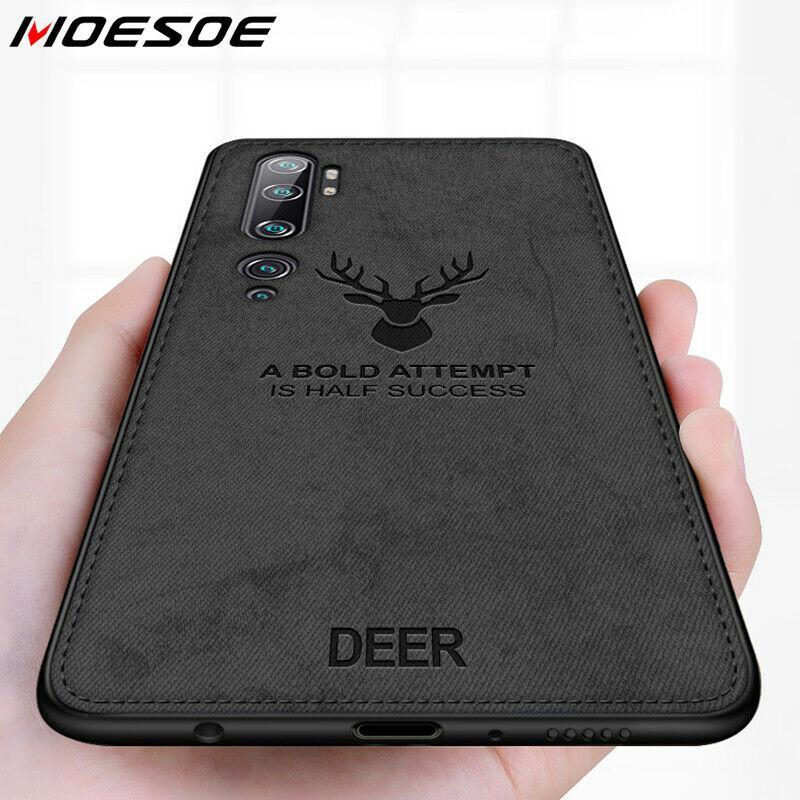 Чехол для Xiaomi Mi Note 10 9T Pro 9 SE A3 Lite Elk Deer тканевый мягкий чехол для Xiaomi Redmi Note 8T 8 Pro 7 6 5 8A 7A 6A