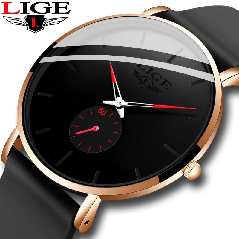 2020 lige novos relógios de quartzo para homens pulseira de silicone masculino esporte relógio de pulso topo marca de luxo simples relógio masculino reloj hombres