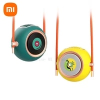 new xiaomi summer hanging neck fan small and light two speed wind usb charging long lasting working life neck cooling fan