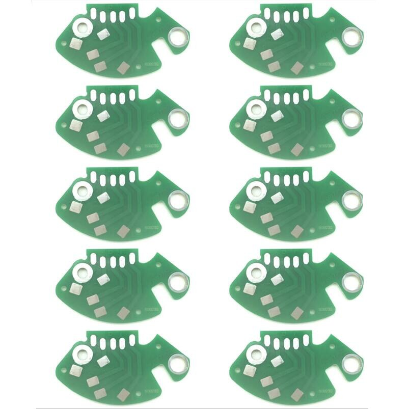 10 Uds RCA PCB circuito impreso SFDP122-22 MK2 MK5 M5G nuevo para TECHNICS 1200 1210