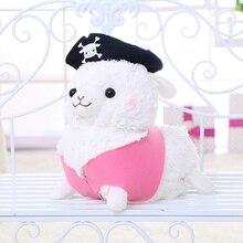 1pc 30/55cm mignon Pirate mouton en peluche jouet en peluche créatif alpaga en peluche poupée enfants fille bébé anniversaire cadeau de noël