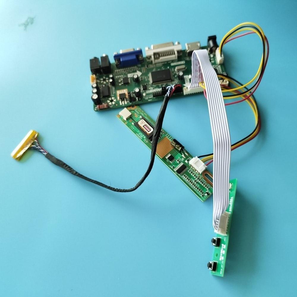كيت ل N154I3-L03/L01/L02/L04 لوحة LCD الصوت تحكم مجلس مراقبة 1280X800 30pin M.NT68676 HDMI + DVI + VGA