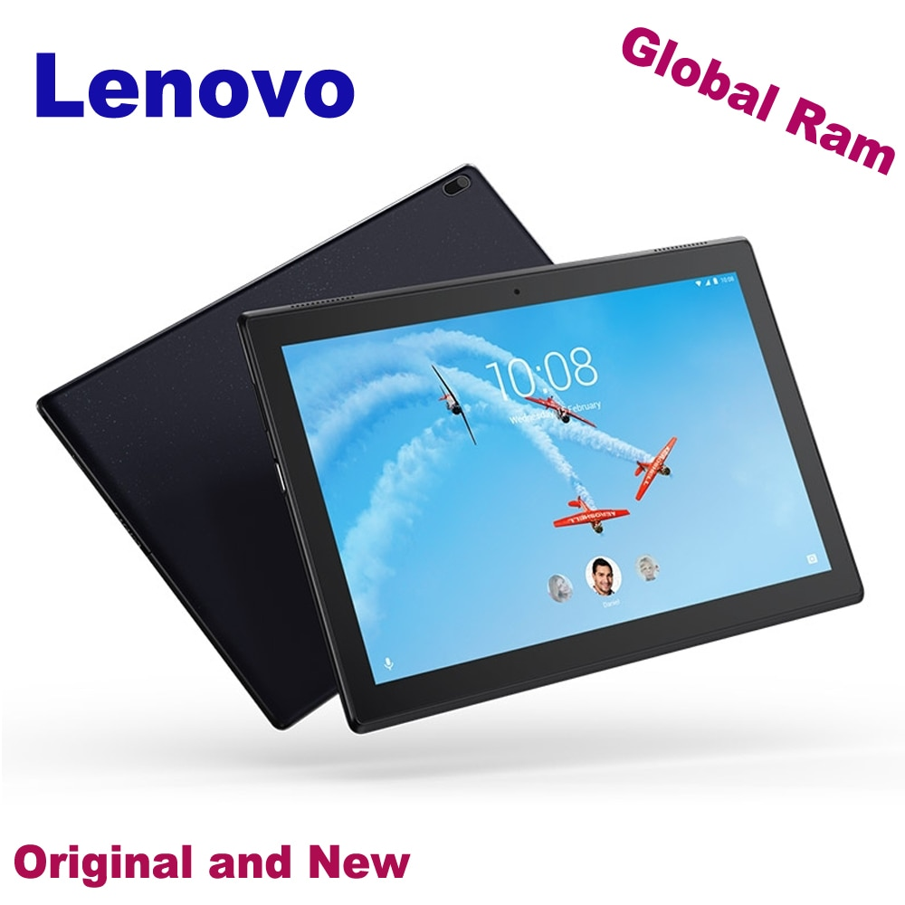 الأصلي 10.1 بوصة لينوفو Tab4 TB-X304N 4G اتصل اللوحي PC 2GB 16GB الروبوت 7.1 كوالكوم أنف العجل 425 رباعية النواة GPS 7000mAh