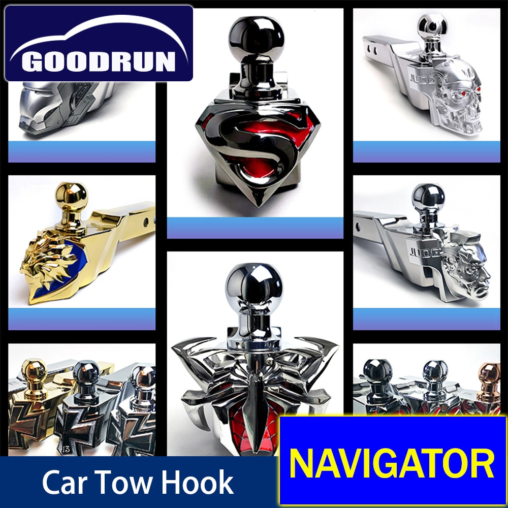 Trailer Tow Winch Hook For Lincoln NAVIGATOR Car Exterior Accessories Safety Latch