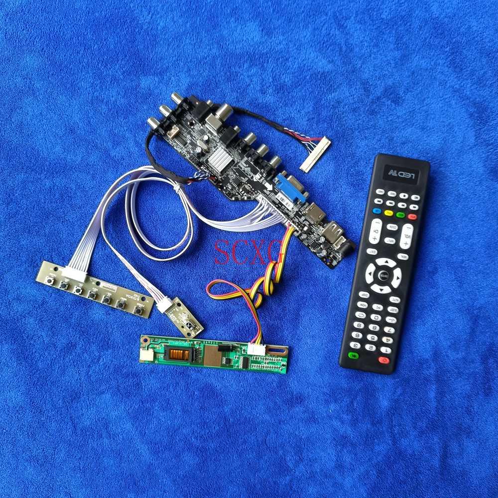 USB VGA HDMI-متوافق لتقوم بها بنفسك عدة الإشارات الرقمية DVB ل N150P2/N150P3/N150P5 1-CCFL 1400*1050 شاشة الكريستال السائل محرك المجلس 30 دبوس LVDS