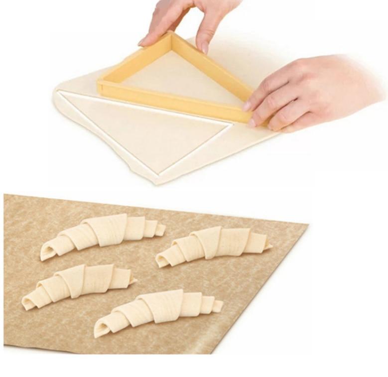 Инструменты для выпечки кондитерских изделий, пластиковый нож для Круассанов, форма для Круассанов, машина для приготовления Круассанов, хлебная линия, форма для теста, лист, кухонные гаджеты