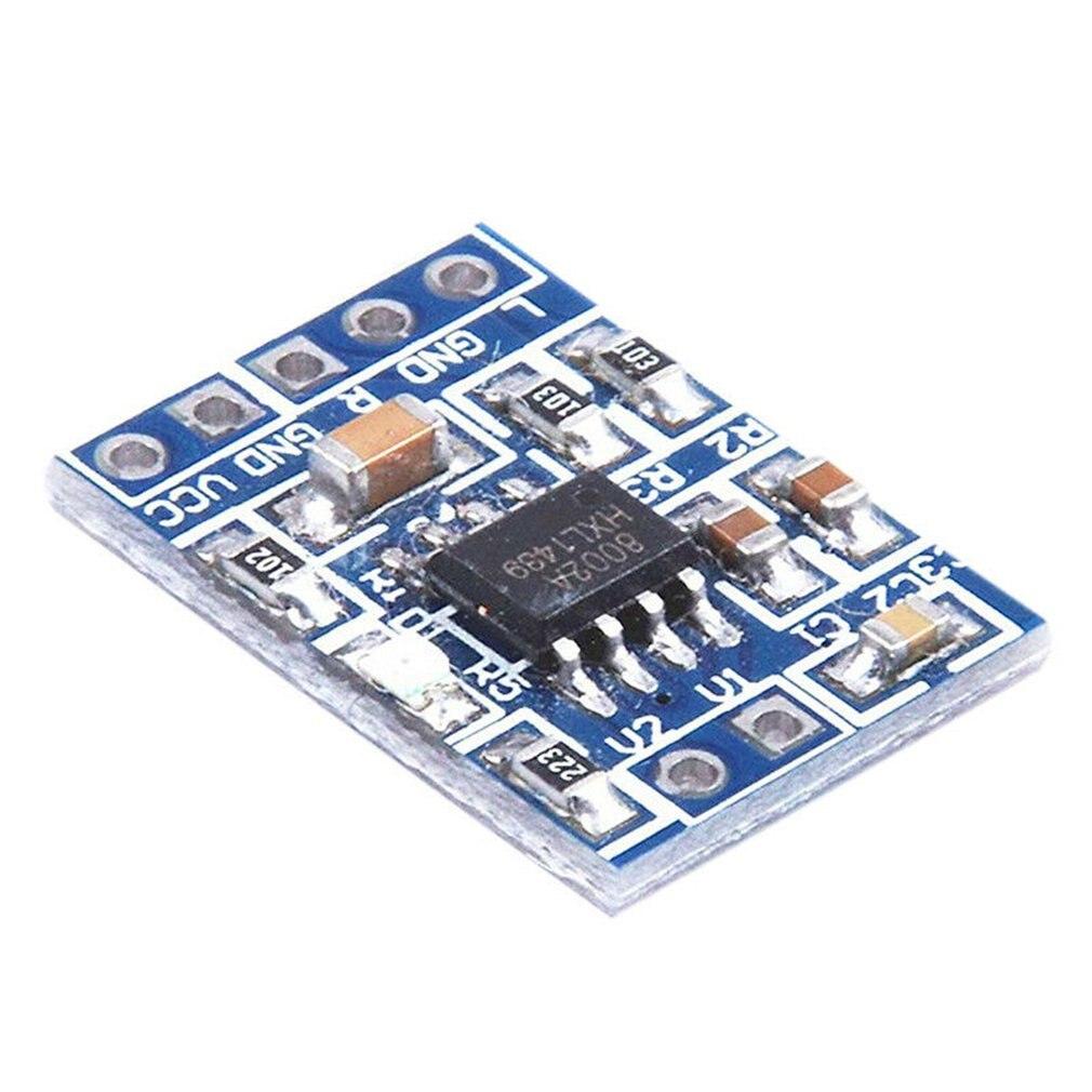 HXJ8002 Power Amplifier Board Mini Audio Voice Amplifier Module Replace PAM8403 2.0-5 .5 V