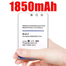 1850mAh BLD-3 batterie pour Nokia 7210 3300 2100 6220 6200 6610 7250 I6260 6610i 7250i