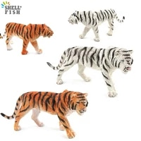 new simulation wild animals simulated tiger action figures model toys pvc educational collection kids xmas gifts