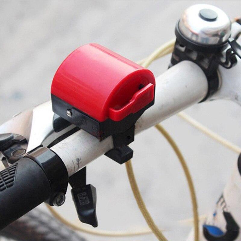 Alta qualidade bicicleta de estrada da bicicleta eletrônico sino alto chifre ciclismo hooter sirene titular atacado