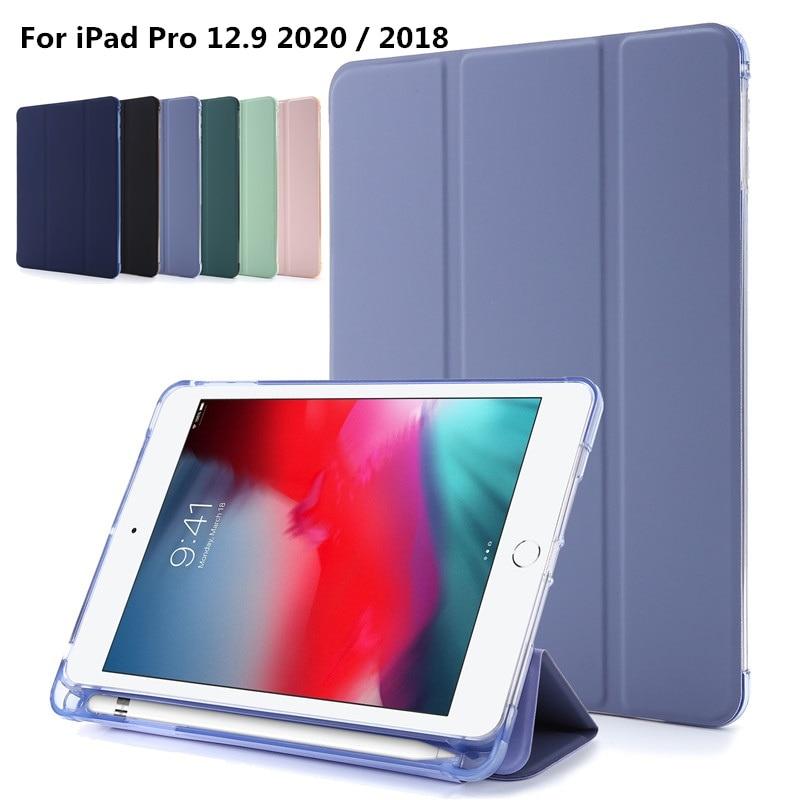 Funda inteligente de silicona suave UV Para iPad Pro 12, 9, 4ª...