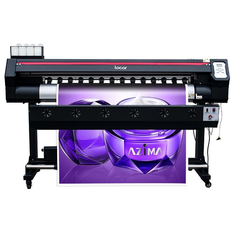 Máquina de impresión para tarpaulin locor easyjet 1802 máquina de gran formato doble cabezas dx7 precio barato máquina de pósteres con impresión