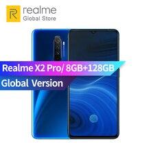 Versión Global verdadero yo X2 Pro 8GB RAM 128 ROM Snapdragon 855 Plus Octa Core 6,5 pulgadas 3 cámara trasera Smartphone VOOC Flash 4000mAh