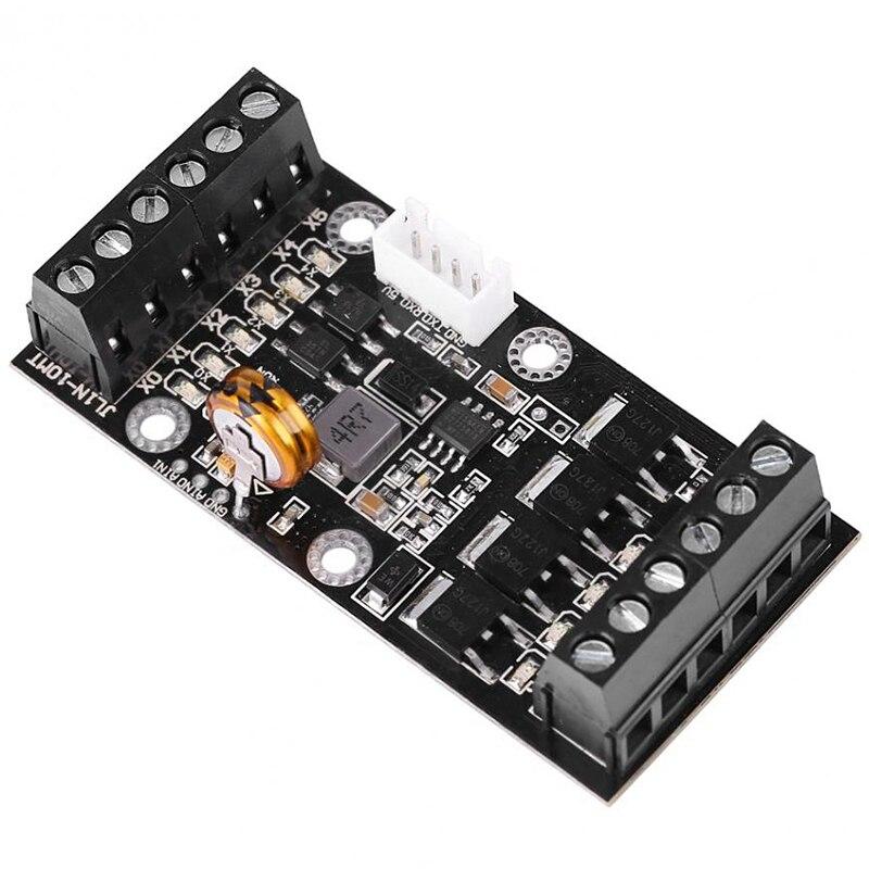 Placa de Control Industrial Plc MÓDULO DE Fx1N-10Mt controlador lógico programable