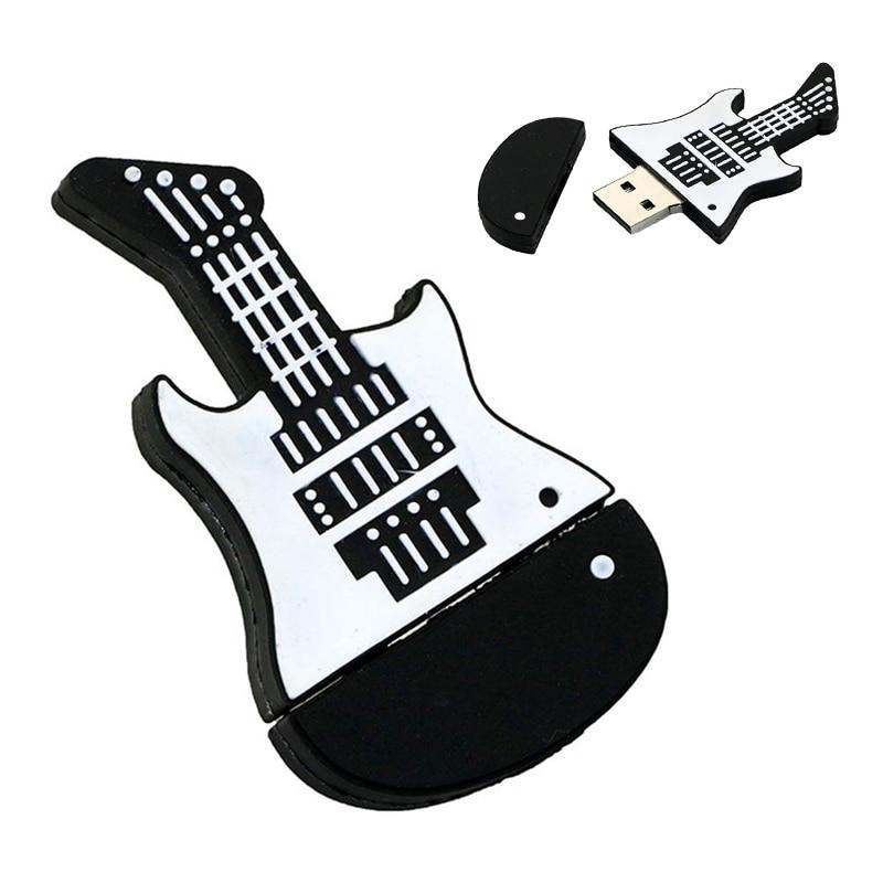 Instrumento Musical de la guitarra memoria flash usb Pendrive 4GB 8GB 16GB...
