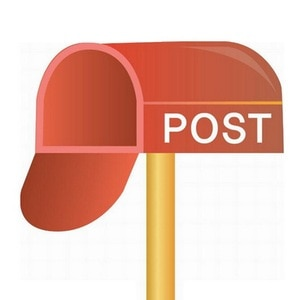 Pay for postage and make up the difference